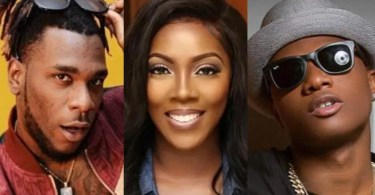 Burna Boy Tiwa Savage Wizkid