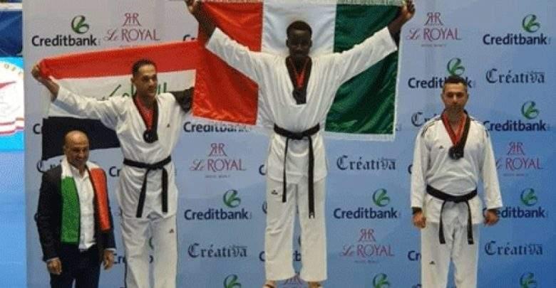 Taekwondo, 2 Médailles D'or ,côte D'ivoire