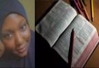 Je me cache pour étudier la Bible Elle m'apporte la paixdixit une jeune musulmane nigériane