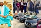 Nigeria un milliardaire fête son anniversaire offrant à ses employés voitures de