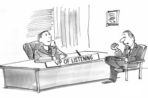VP of Listening, brand image, future purchases