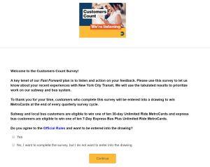 cx pyramid survey mta customers count
