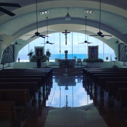 Guadalupe Chapel Inside Isla Mujeres