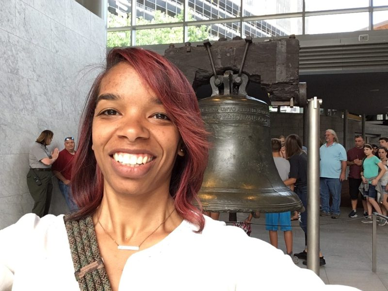 Liberty Bell selfie