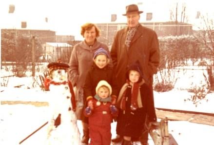 Thomas Harold Chapman and Family Circa 1962