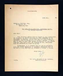 Letter asking for clarification© 1997-2015 Ancestry.com