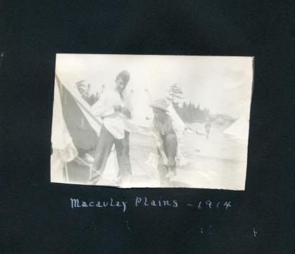 1914 Cadet Camp on Macaulay Plain