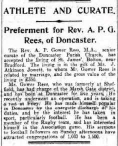 Sheffield Daily Telegraph, 18 Jul 1912. Source: British Newspaper Archive