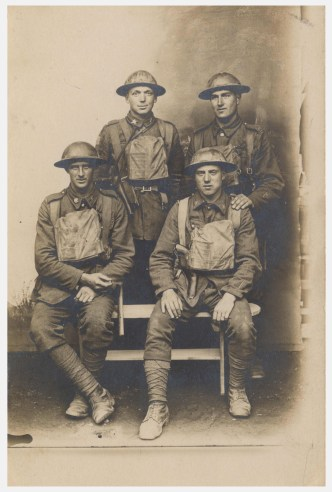 Unidentified Canadian Soldiers. Courtesy: M. I. Pirie collection.