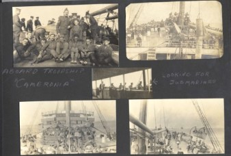 Archie Wills Photograph Album, image 79. Source: Victoria to Vimy Exhibit UVic Library Special Collections