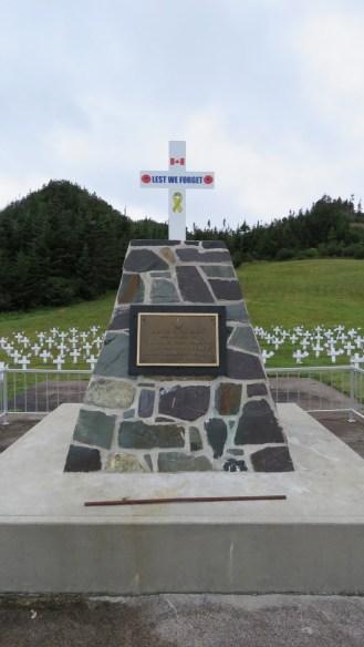 War Memorial at Ferryland, Newfoundland