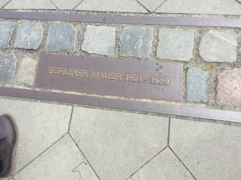 Berlin Wall 1961-1989