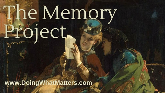 The Memory Project: Pied Beauty and More