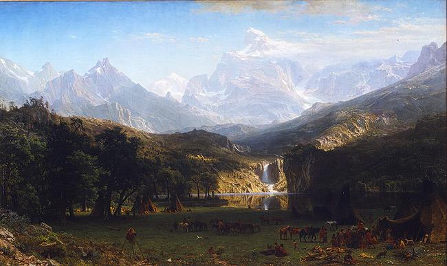 Lander's Peak by Bierstadt