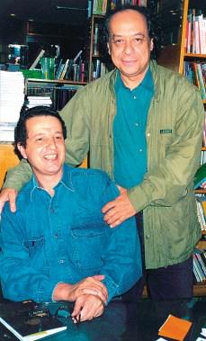José Trajano esteve presente na noite de autógrafos do livro Meninos, Eu Vi, em 2003.