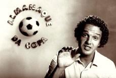 Juca Kfouri no primeiro programa de tv que participou, em 1982.