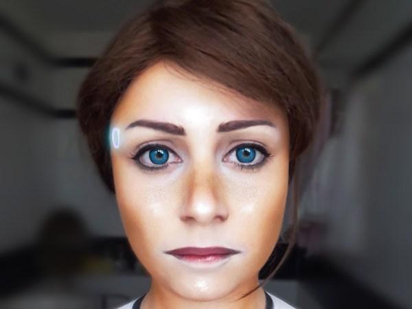 Il cosplay di Kara, personaggio molto forte di Detroit: Become Human