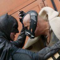 bane e batman cosplay