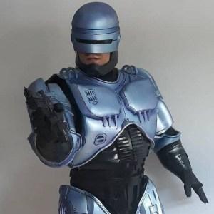 Um excelente cosplay de RoboCop que vem do Brasil!
