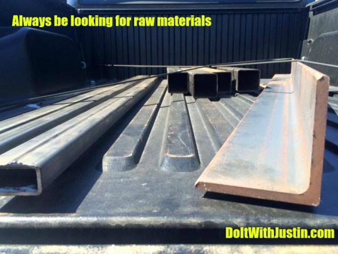 Steel haul