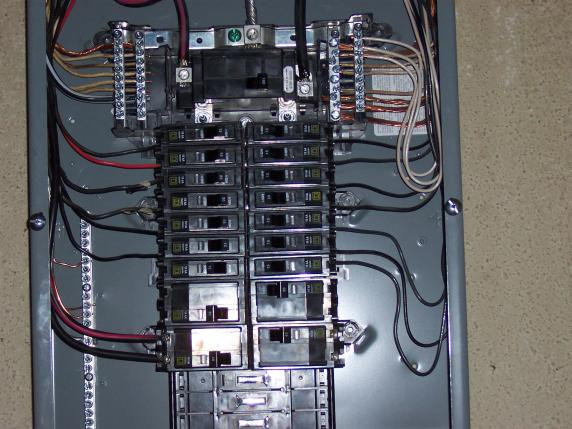 Is #8 Wire Overkill For A Sub Panel With 15 Amp Breakers
