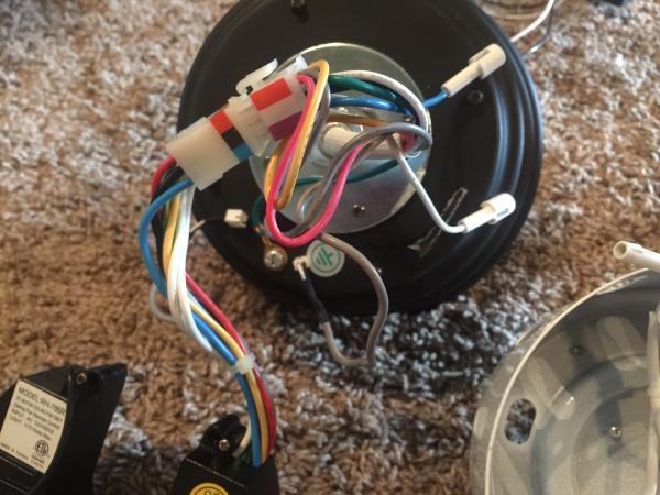 Re-wiring New Transmitter