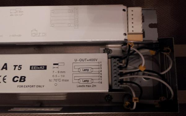 Need Help Wiring New T5 Ballast