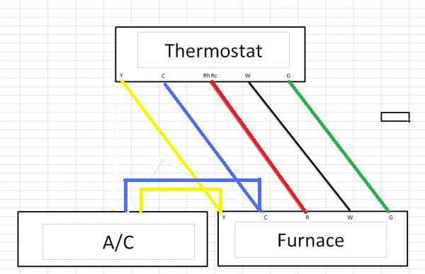 Installing New Wifi Thermostat (Adding C Wire