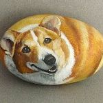 40 Favorite DIY Painted Rocks Animals Dogs for Summer Ideas (18)