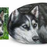 40 Favorite DIY Painted Rocks Animals Dogs for Summer Ideas (26)