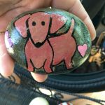 40 Favorite DIY Painted Rocks Animals Dogs for Summer Ideas (35)