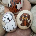 40 Favorite DIY Painted Rocks Animals Dogs for Summer Ideas (40)