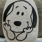 40 Favorite DIY Painted Rocks Animals Dogs for Summer Ideas (7)