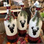 76 Best DIY Wine Bottle Craft Ideas (19)