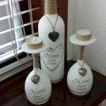76 Best DIY Wine Bottle Craft Ideas (38)