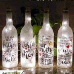 76 Best DIY Wine Bottle Craft Ideas (50)