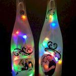 76 Best DIY Wine Bottle Craft Ideas (68)