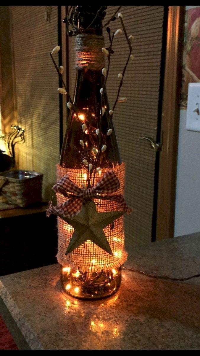 76 Best DIY Wine Bottle Craft Ideas (73)