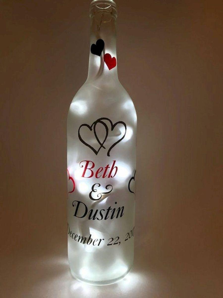 76 Best DIY Wine Bottle Craft Ideas (76)