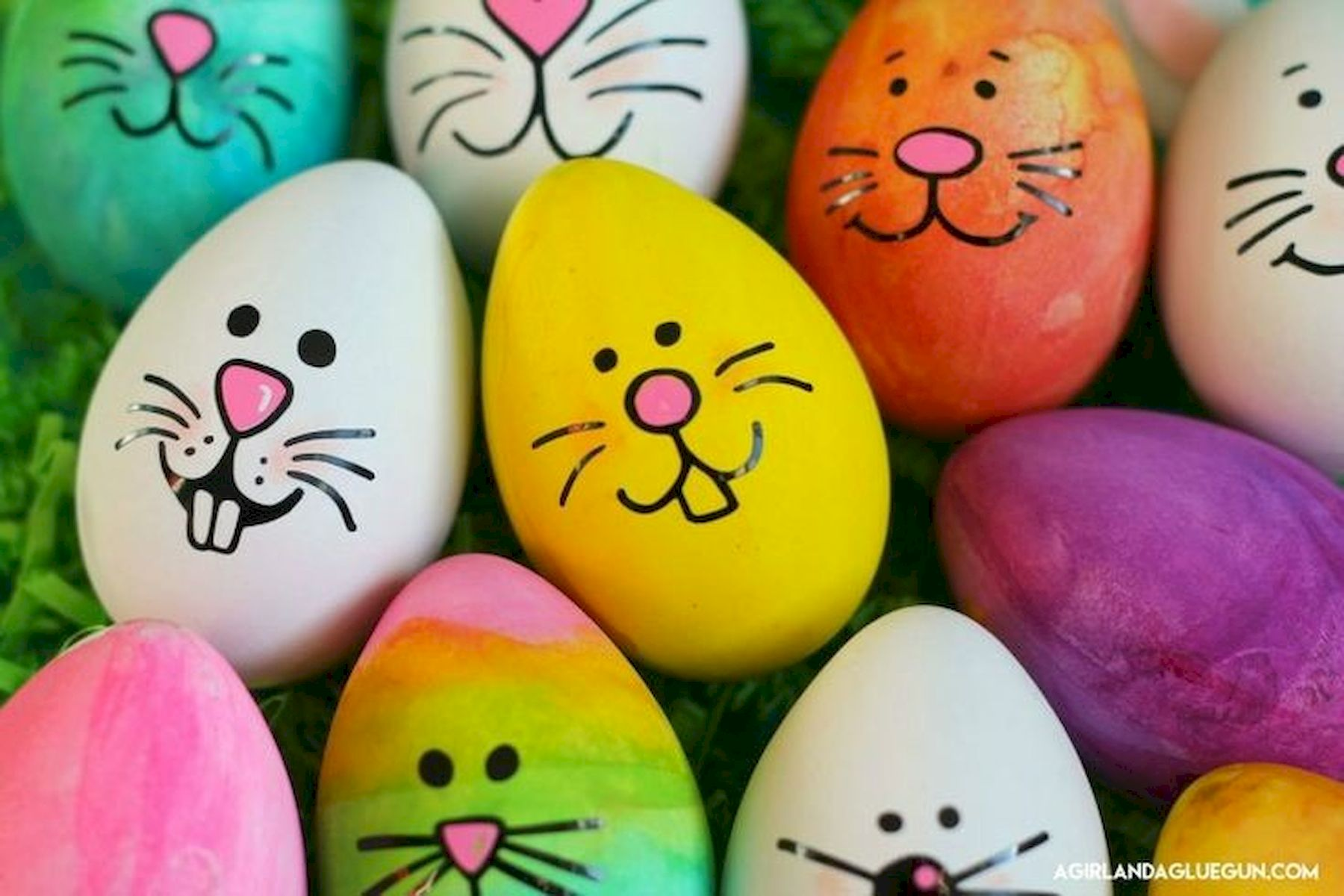 90 Awesome DIY Easter Eggs Ideas (1)