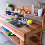 50 Amazing DIY Pallet Kitchen Cabinets Design Ideas (12)