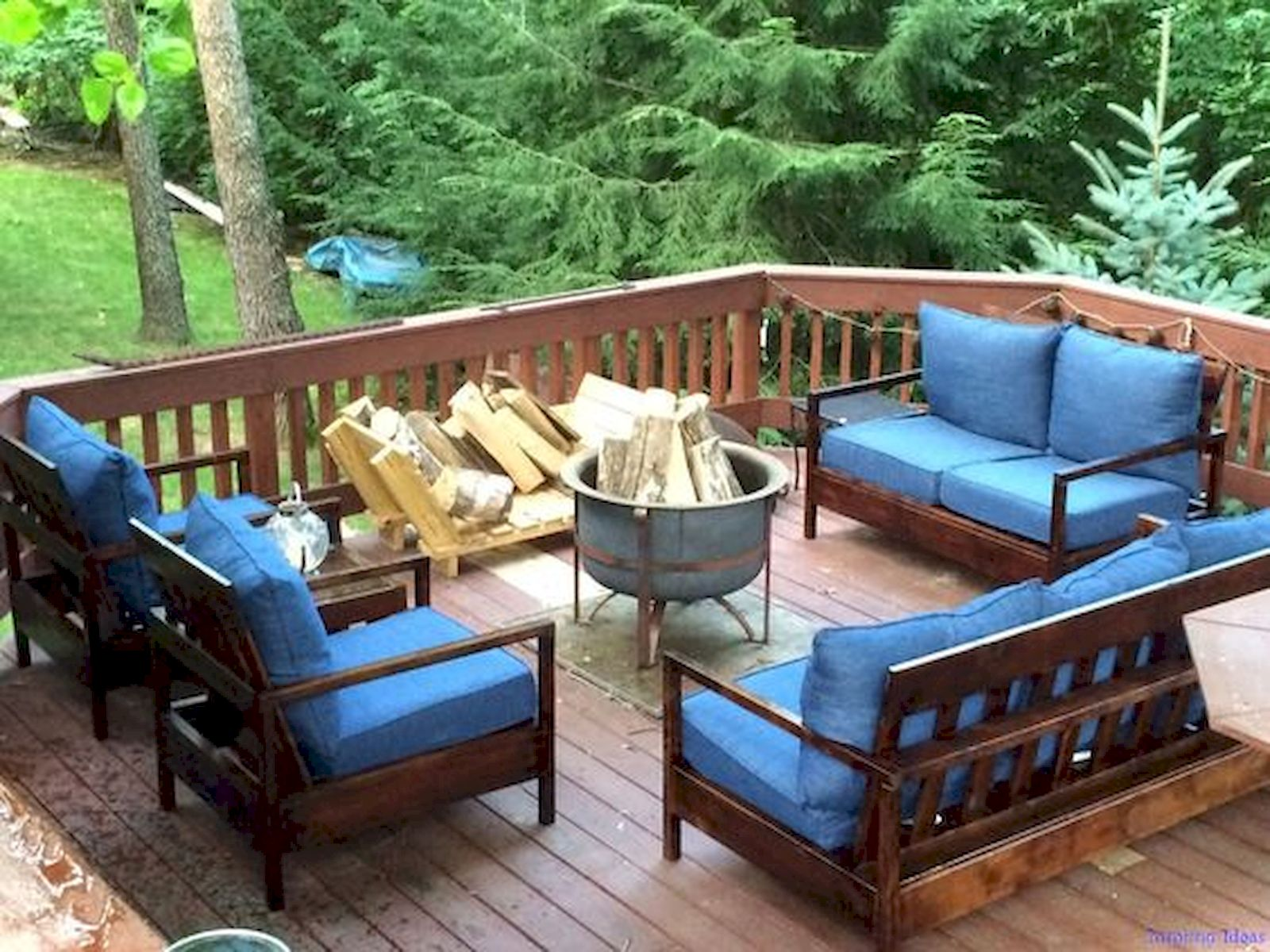 50 Amazing DIY Projects Outdoor Furniture Design Ideas (1)