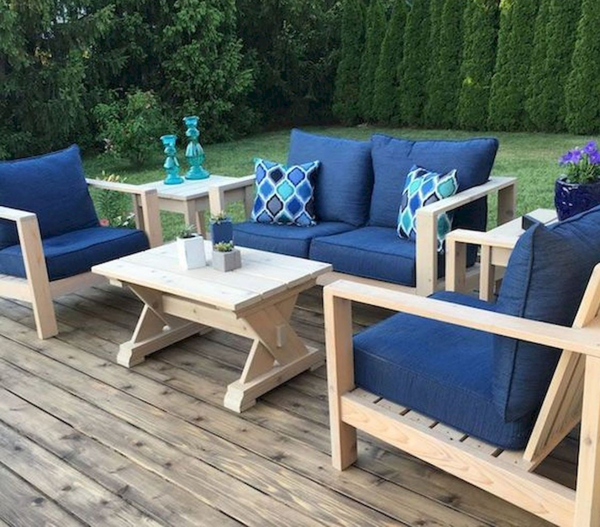 50 Amazing DIY Projects Outdoor Furniture Design Ideas (10)