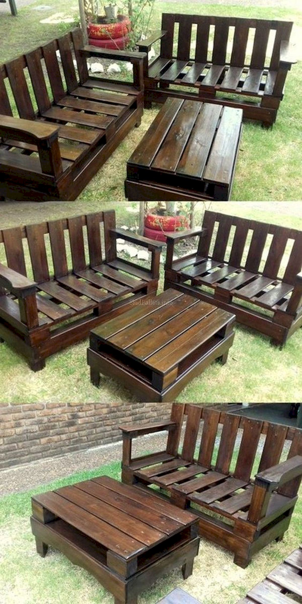 50 Amazing DIY Projects Outdoor Furniture Design Ideas (13)