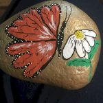 55 Cute DIY Painted Rocks Animals Butterfly Ideas (20)