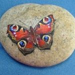 55 Cute DIY Painted Rocks Animals Butterfly Ideas (25)