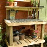 60 Awesome DIY Pallet Garden Bench and Storage Design Ideas (19)