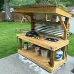 60 Awesome DIY Pallet Garden Bench and Storage Design Ideas (34)