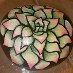 60+ Beautiful DIY Painted Rocks Flowers Ideas (54)
