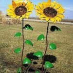 60 Creative DIY Garden Art From Junk Design Ideas (6)